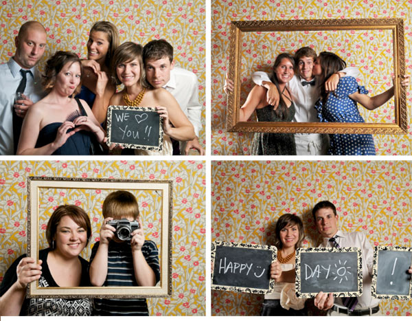 20 creative guest book ideas for a diy wedding lines across photo booth strips i love the idea of having a photo booth at a wedding have your guests add their photos to your scrapbook where they can also write you solutioingenieria Choice Image