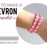 How to Make a Chevron Braided Bracelet