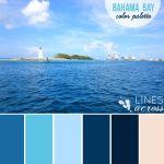 Bahama Bay Color Palette