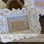 Easy Picture Frame Ornaments – 52 Mantels