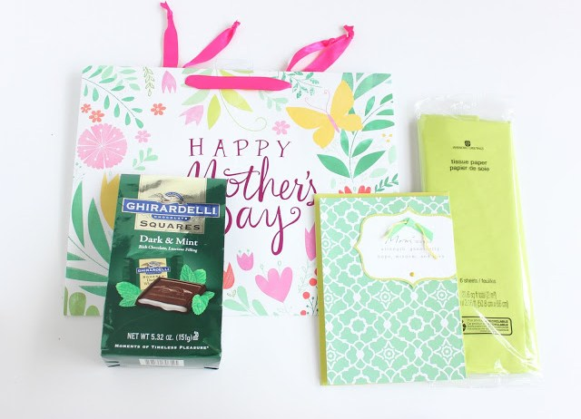 A Colorful Mother S Day Gift Basket Lines Across