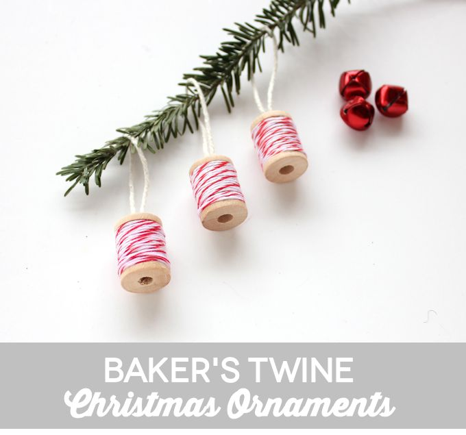 Baker's Twine Christmas Ornaments
