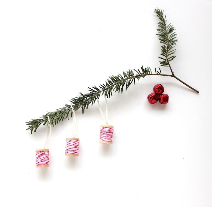 Baker's Twine DIY Ornaments