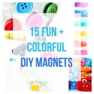 15 Fun and Colorful DIY Magnets