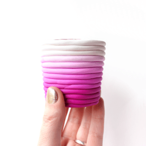 Ombre DIY Candle Holders