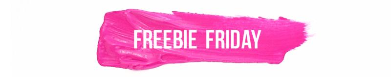Freebie Friday - paint streak