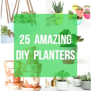 25 Amazing DIY Planters