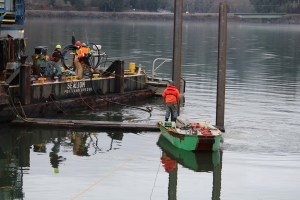 J. D. Fowler Bore Into Columbia River (8)