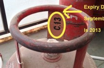 Lpg gas cylinder expiry date