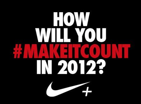 Nike #MakeItCount marketing campaign