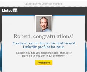 Top Viewed LinkedIn Profile
