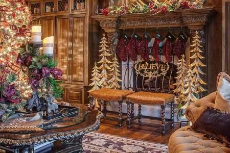 unique christmas home decor and decorating