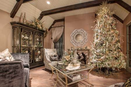 unique luxury christmas tree holiday decor