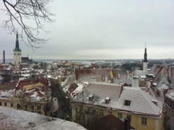 View on the old town in Tallinn