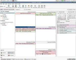 Evolution for Linux, Groupware Suite