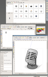 Inkscape Vector Image Editing