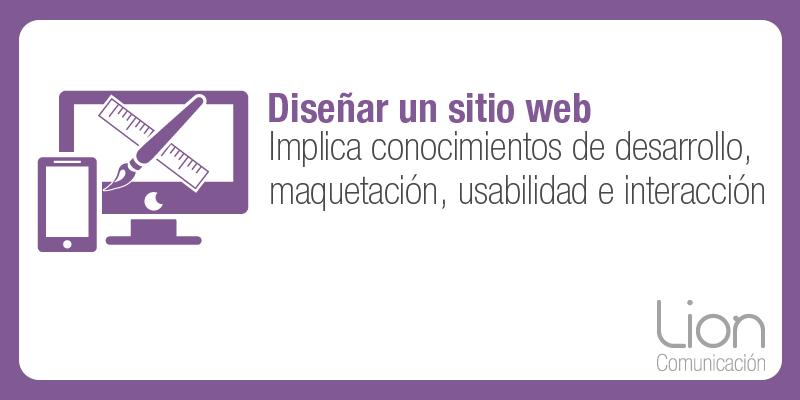 Lion Comunicación: Diseño web en Zaragoza