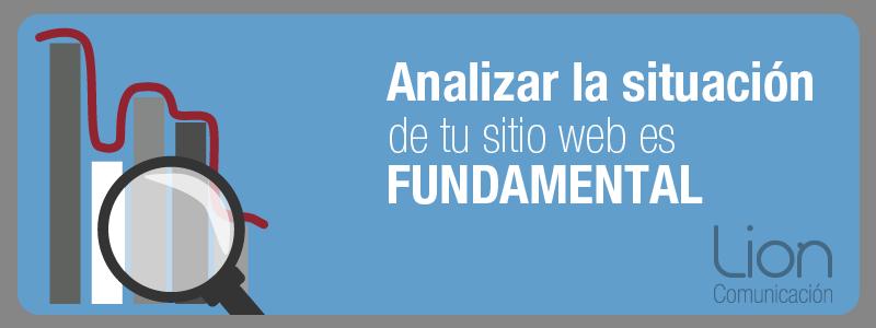Análisis web - Lion Comunicación Zaragoza