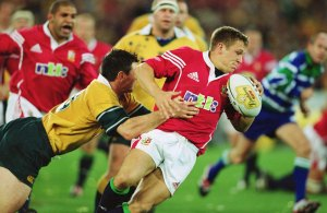 British Lions v Australia Jonny Wilkinson