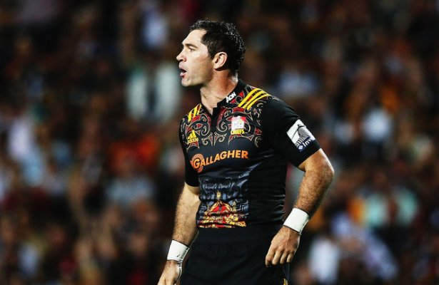 Stephen Donald of the Chiefs