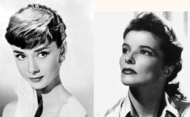 Audrey Hepburnesque and Katharine Hepburnesque