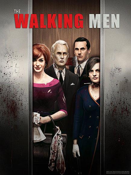 Mad Men Zombies