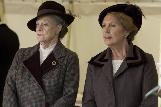 Downton Abbey, S5, Ep06, Violet Grantham and Isobel Crawley