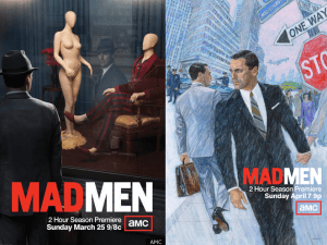 Mad Men posters, Season 5 and 6