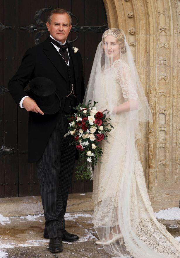 Downton Abbey: Edith's wedding day