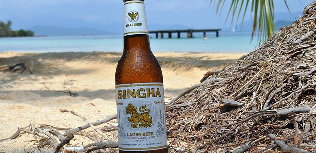 Singha Beer South Africa Beach