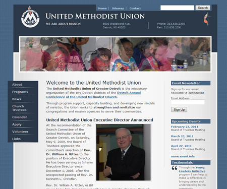 United Methodist Union website