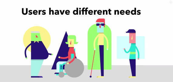 Users have different needs