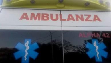 ambulanza reggio emilia