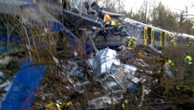 germania incidente treni