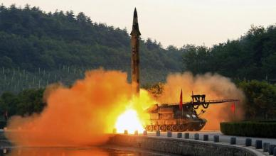 North Korea fires several land-to-sea missiles according to South Korean military