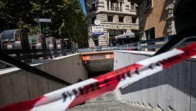 Uomo travolto e ucciso alla stazione della Metro Barberini