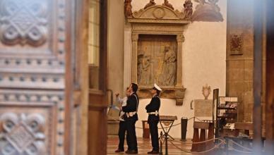 Turista morto in S.Croce, colpito da pezzo di capitello
