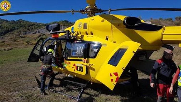 Elicottero soccorso alpino Emilia-Romagna