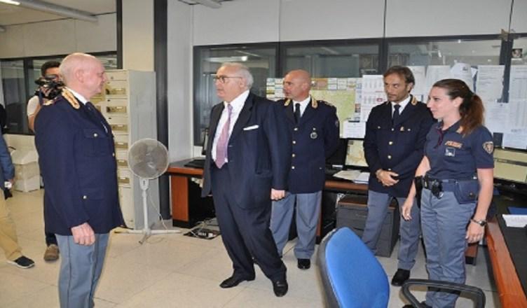 Visita Prefetto questura di Frosinone
