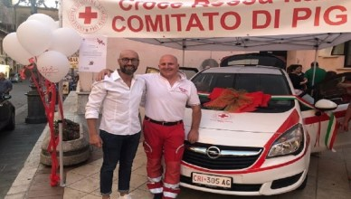 inaugurazione auto croce rossa