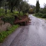 crolla muro al Vallone 2