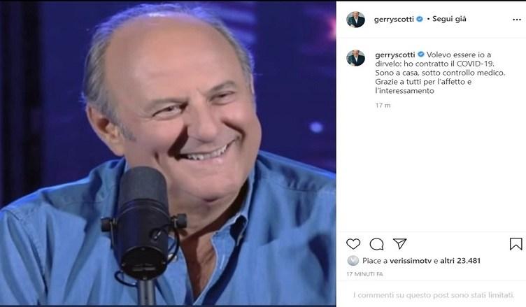 gerry scotti_positivo_coronavirus