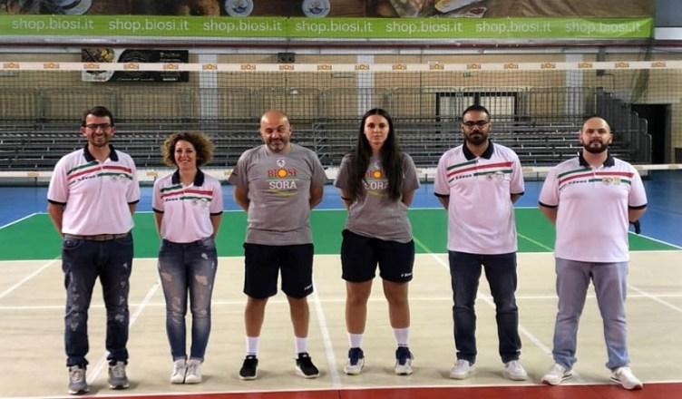 Foto staff Volley Sora