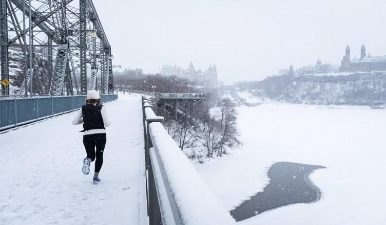 correre freddo