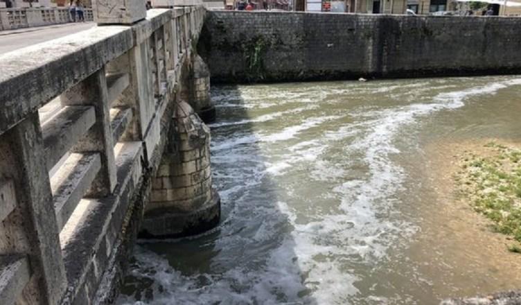 inquinamento fiume liri