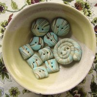 Beginner Button Class - Using your leftover scrap clay