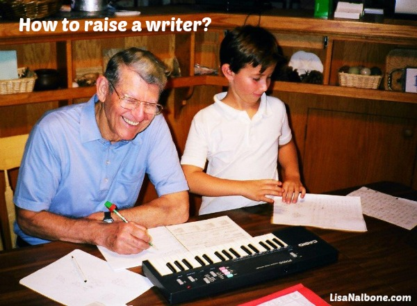 How to  raise a writer? Dale Stephens and his grandpa writing a song