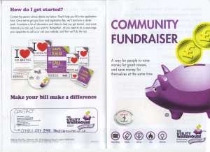 Charity Fundraiser Front