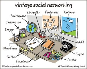Vintage Social Networking by John Atkinson