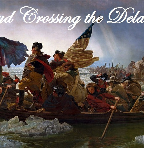Floyd Crossing the Delaware